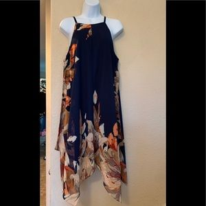 Vibrant floral dress great condition
